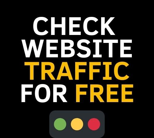 check blog traffic for free